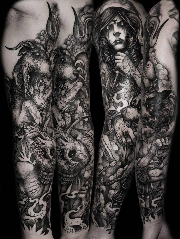 Татуировки в стиле готики картинки