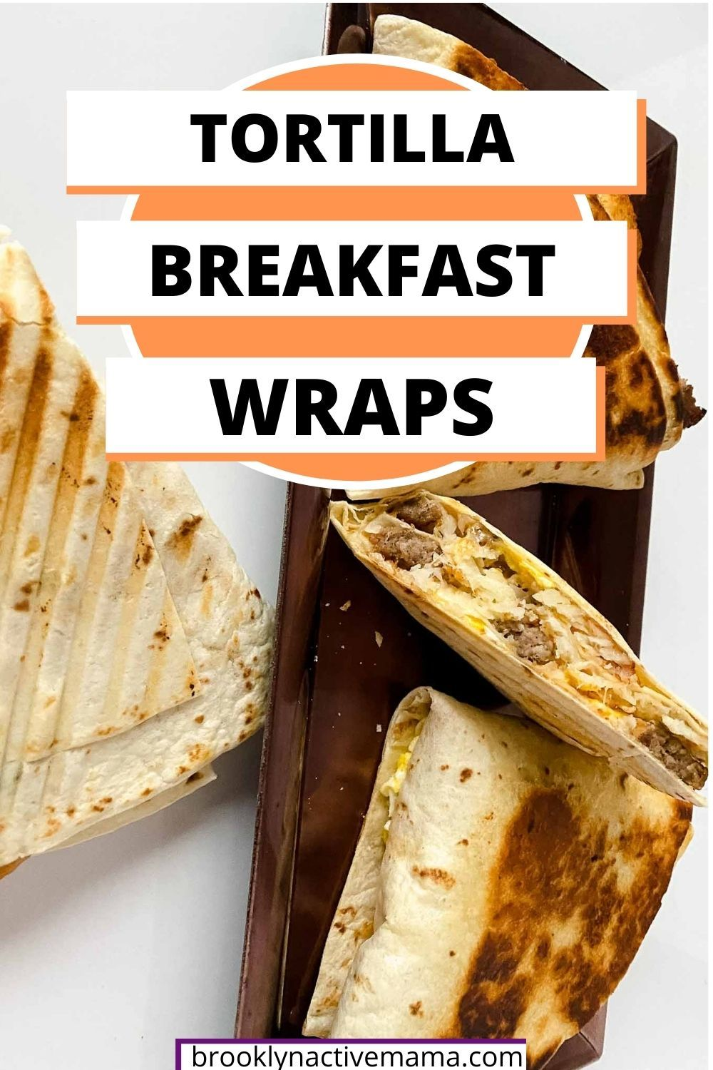 Tik Tok Tortilla Wrap Hack Breakfast Wrap With Hash Browns Eggs Cheese And Sausage In 2021 Breakfast Wraps Tortilla Wraps Amazing French Toast Recipe