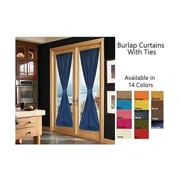 Amore Beaute Handcrafted Burlap Curtains With Ties Custom Window... (5,315 INR) via Polyvore featuring home, home decor, window treatments, curtains, burlap window treatments, french window treatments, handmade home decor, burlap draperies and french curtains #burlapwindowtreatments Amore Beaute Handcrafted Burlap Curtains With Ties Custom Window... (5,315 INR) via Polyvore featuring home, home decor, window treatments, curtains, burlap window treatments, french window treatments, handmade home #burlapwindowtreatments