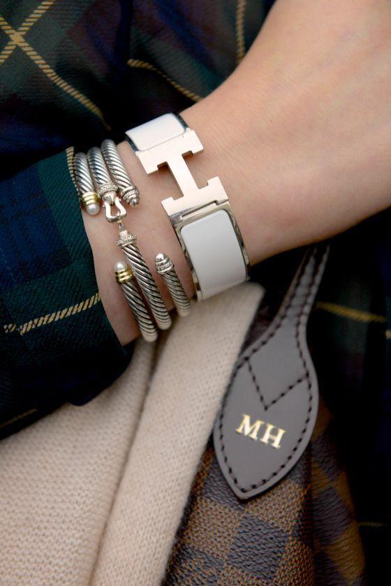 720e63255d4 Hermes   David Yruman bracelets Acessórios Femininos