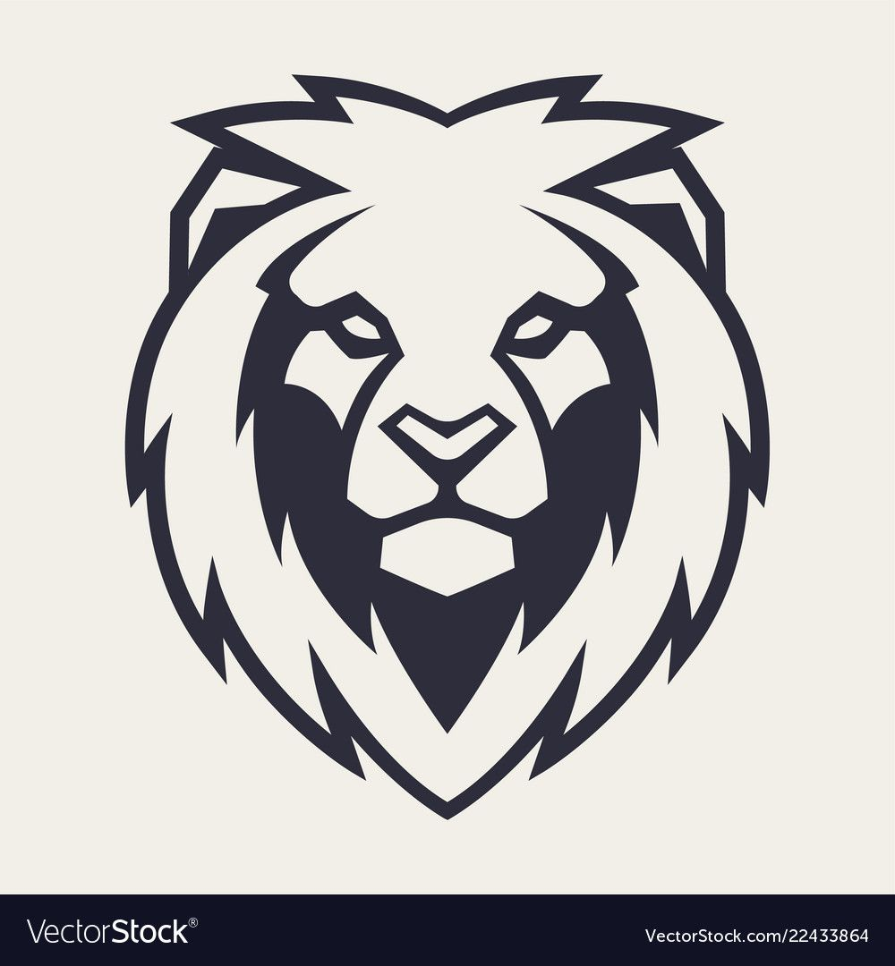 Lion Looking Danger Lion Head Icon Lion Vector Logo Template Download A Free Preview Or High Quality Adobe Illustrator Ai E Lion Vector Lion Icon Lion Logo