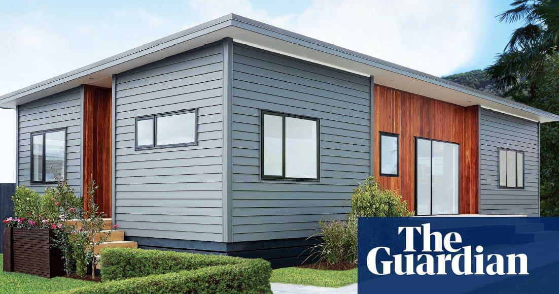 Bunnings flatpack homes fly off the shelves but only in