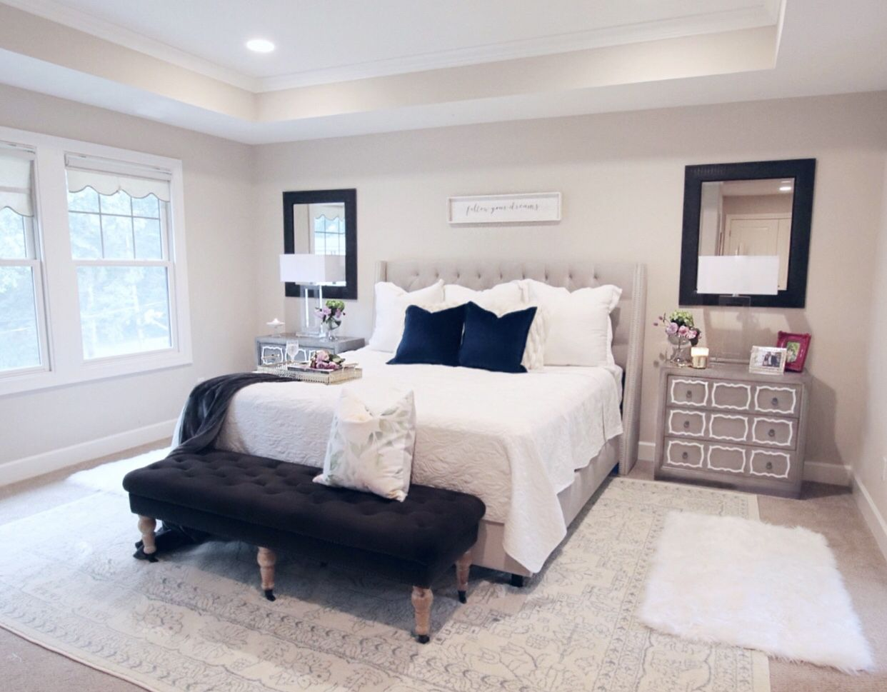Master bedroom decor ideas images