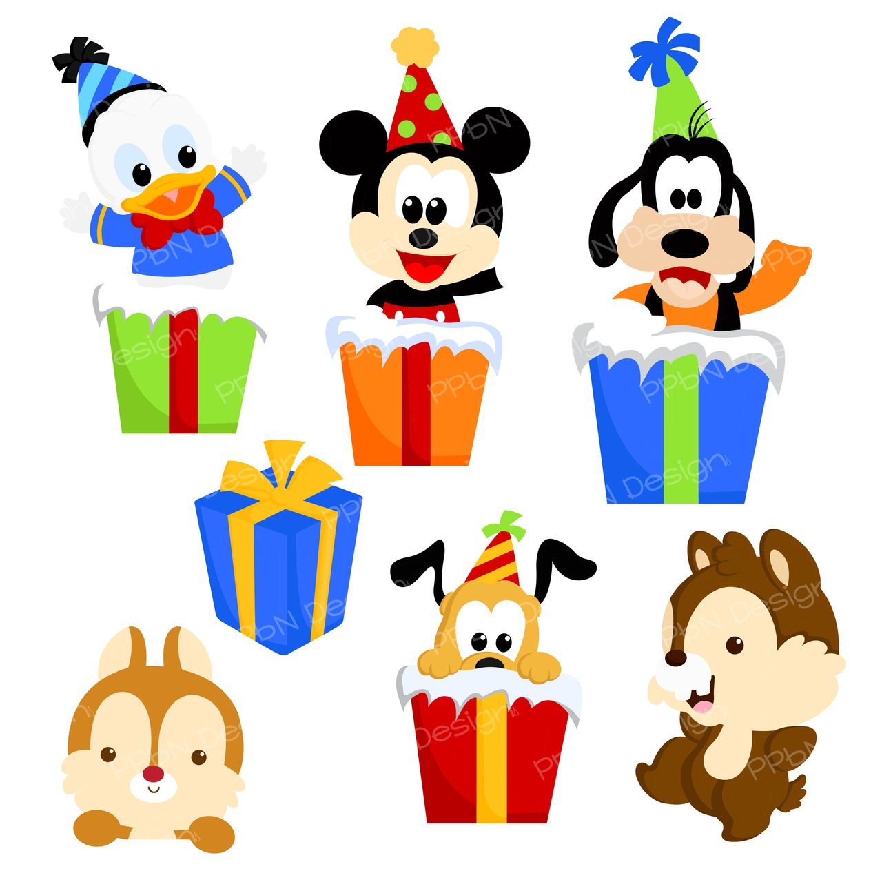 PPbN Designs Mouse Birthday Exclusive (SVG Only), 0.00