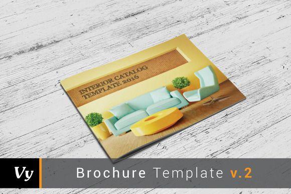 Multipurpose Catalog Template by voryu on Creative Market Brochure