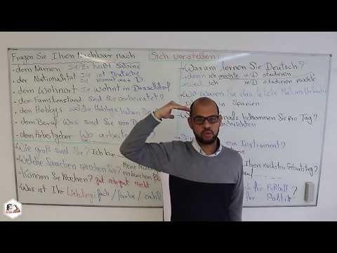 Deutsch Folge 03 (A1,A2 ,B1) Sich vorstellen