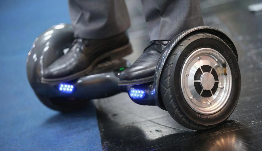 Because of their lithium battery packs hoverboard car