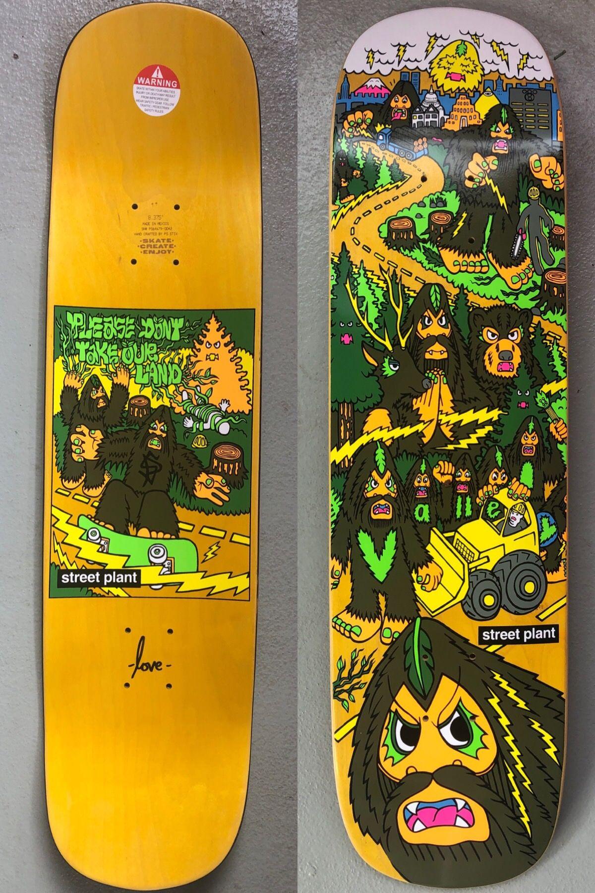 Street Plant Vallely Modern Bigfoot Barnyard Skateboard Skateboard Decks Skateboard Accessories