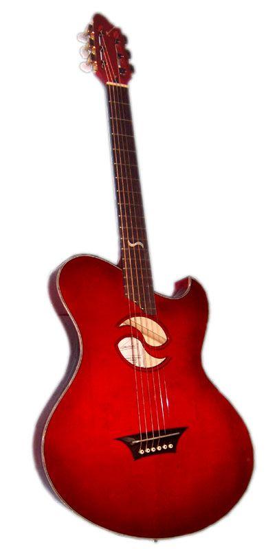 "Kraushaar Guitars ""Stageplayer"" --- https://www.pinterest.com/lardyfatboy/"