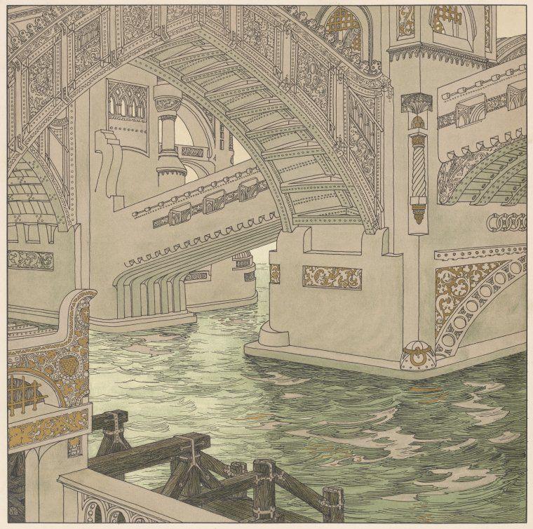 Bridge  Urban, Joseph, 1872-1933 -- Illustrator   Lefler, Heinrich, 1863-1919 -- Illustrator