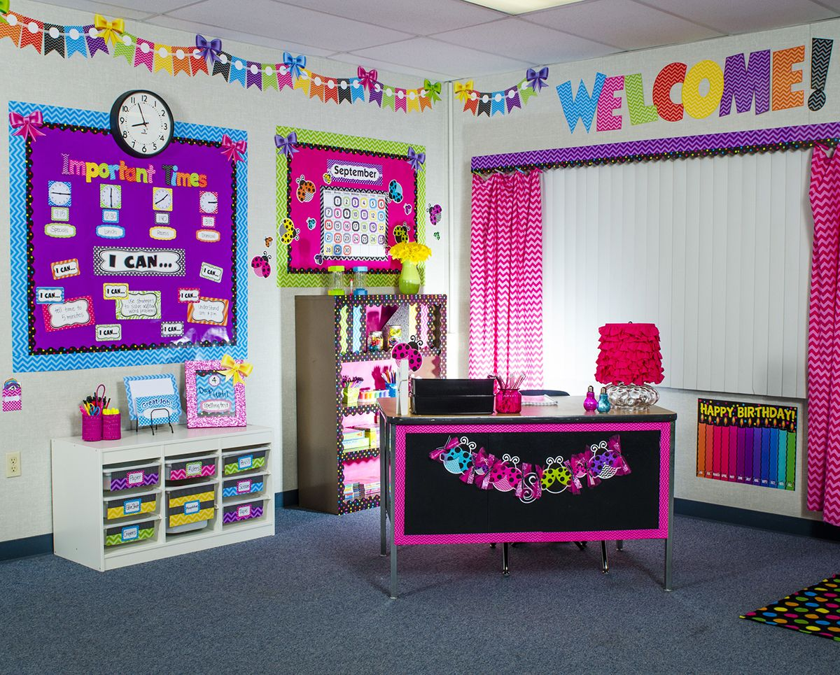 Classroom Decor Resources ~ The chevron themed classroom decorations from teacher