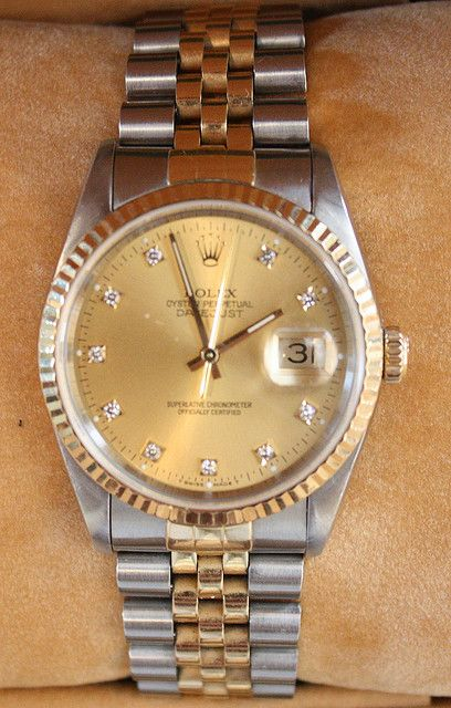 #Rolex Oyster  Perpetual Datejust    like .. repin .. comment :)    http://amzn.to/X1nbG9