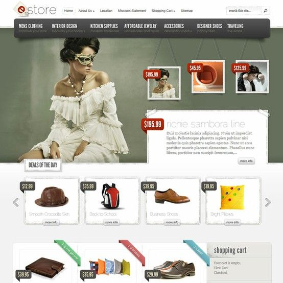 eStore eCommerce WordPress Theme | Premium Wordpress Themes - An ...