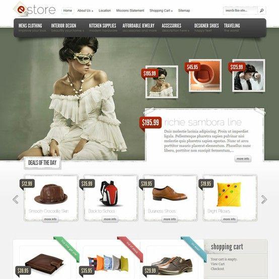 eStore eCommerce WordPress Theme   Premium Wordpress Themes - An ...