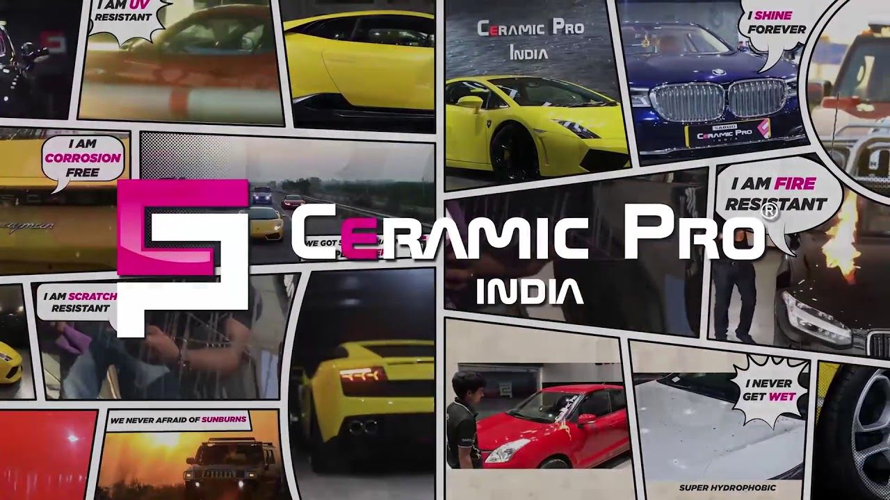 Upgrade Your Car With Superpowers Ceramic Pro Super Powers Getting Wet Car