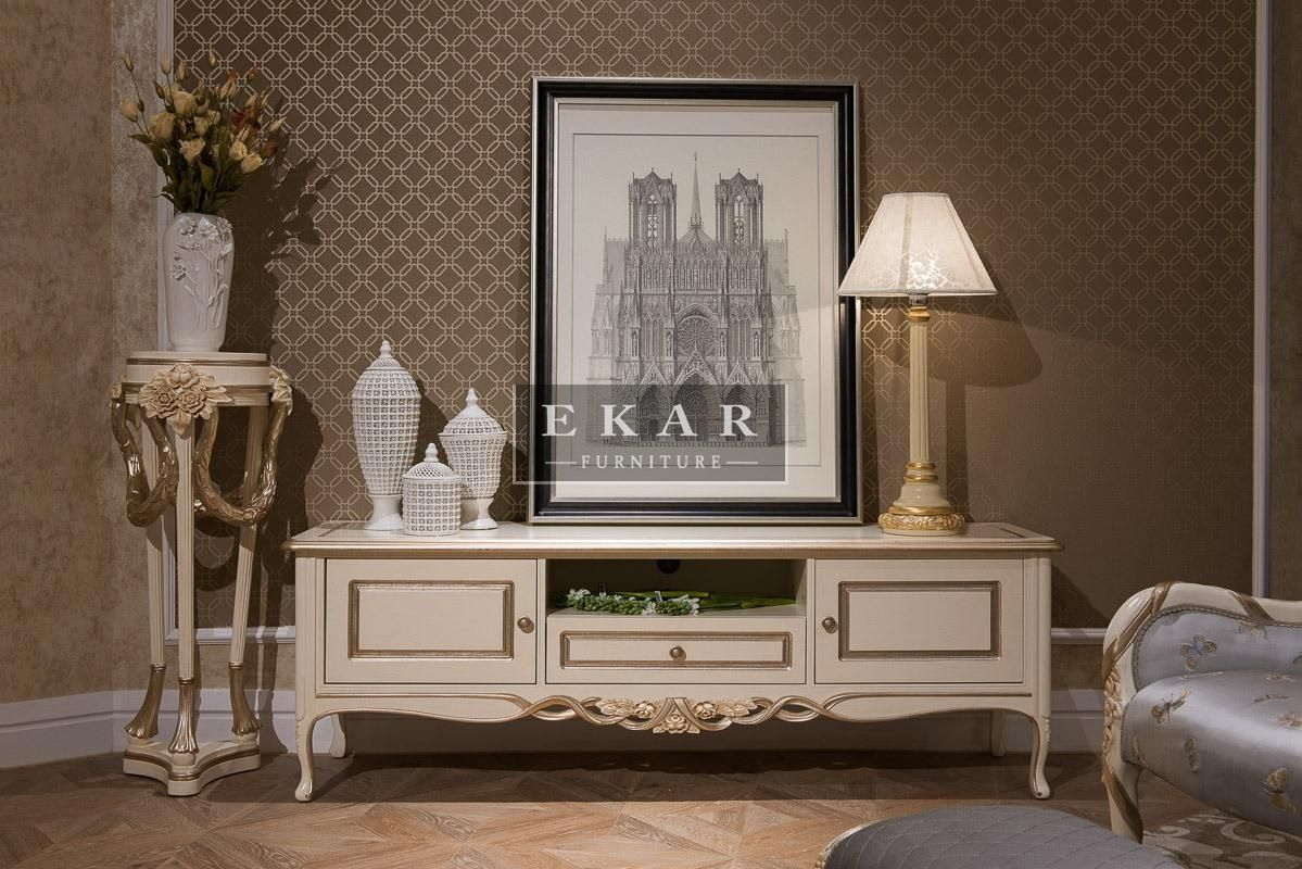 Etonnant Ekar Furniture Classic Antique Tv Stand
