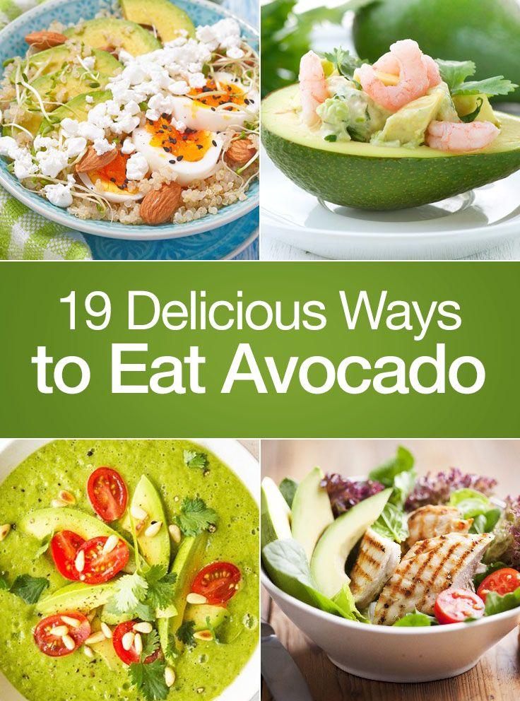 19 Delicious Ways to Eat Avocados #cookiesalad