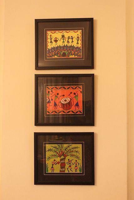 Tried My Hand At Warli Art Worli Painting Kids Canvas Art