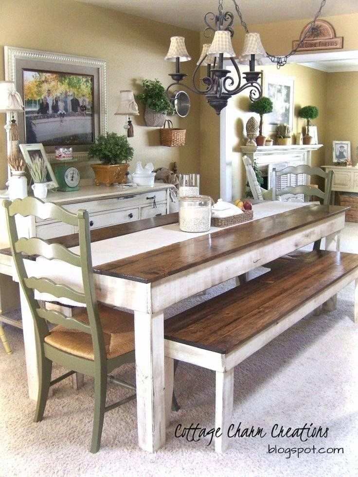 28 Beautiful Picnic Table Dining Room Set In 2020 French Country