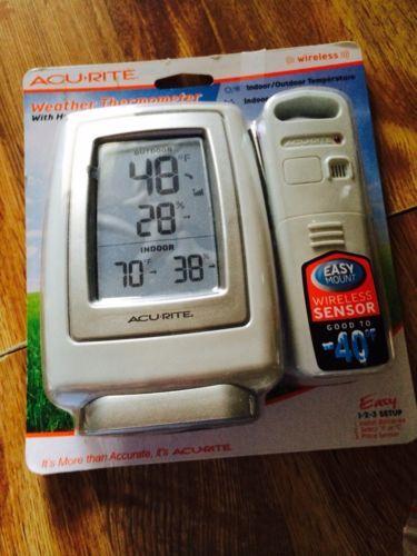 Acu-Rite Indoor Outdoor Wireless Thermometer.   Best Indoor Outdoor ...