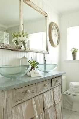 Pinterest Loving- Bathrooms | Bagni chic, Decorazione shabby ...
