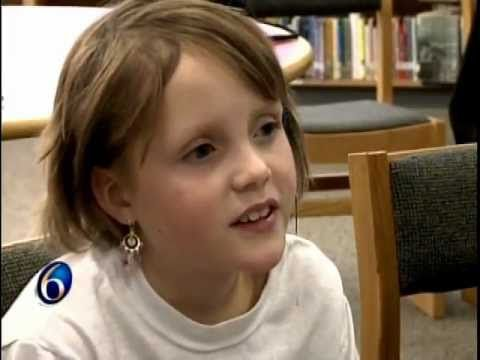 Thanks to the Make a Wish Foundation she became a young, published author.  #specialanddetermined