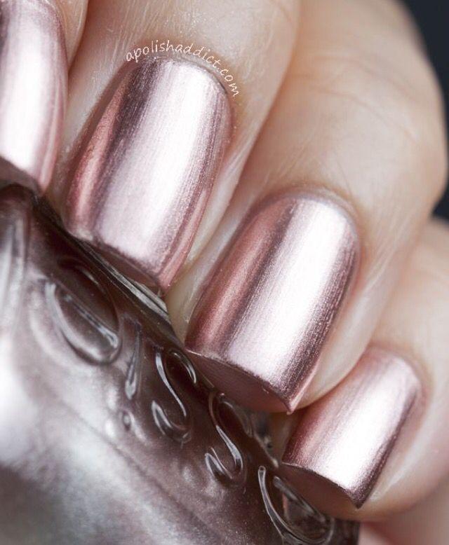 Rose gold | Nails | Pinterest | Rose, Gold and Makeup
