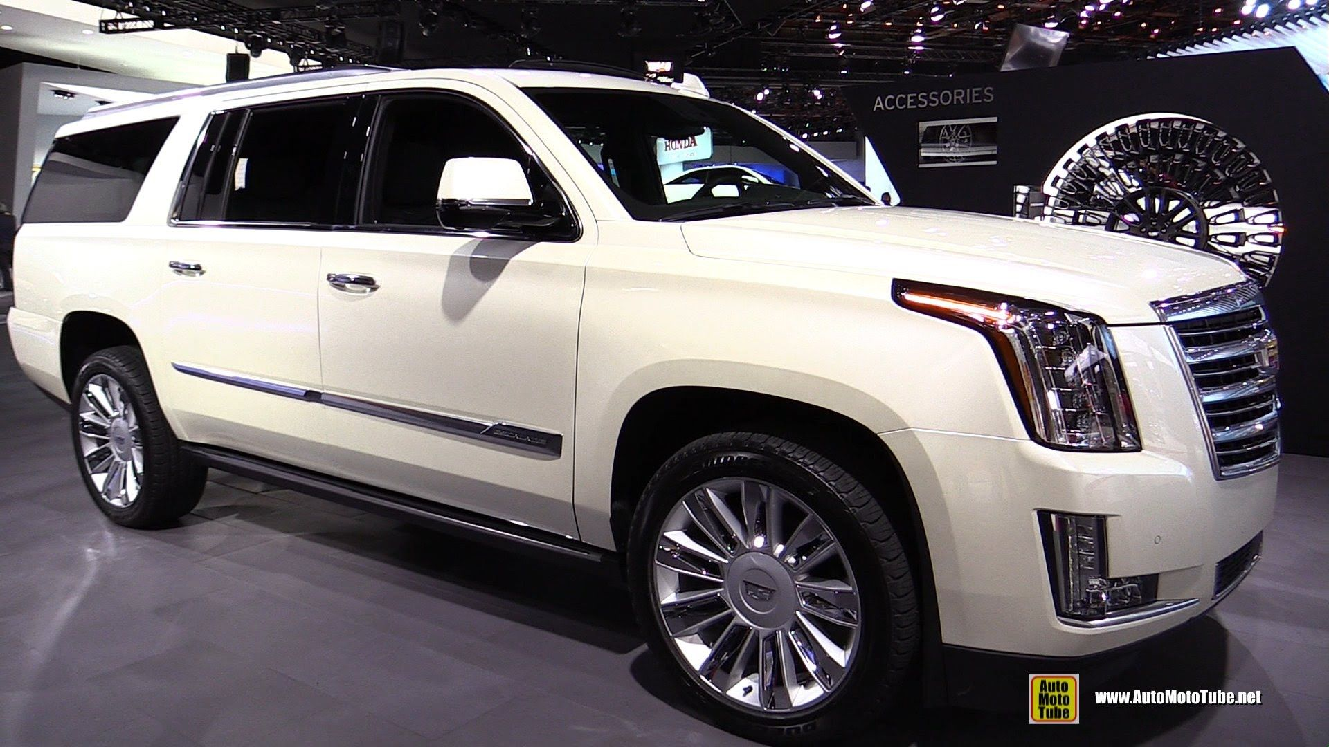 2015 cadillac escalade platinum exterior and interior