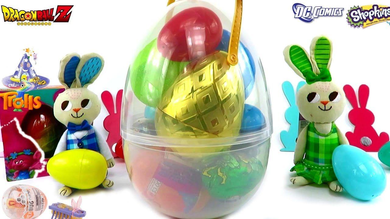 Huevo Sorpresa Gigante de Huevos Sorpresas de Pascua Dragon Ball + Hex B...