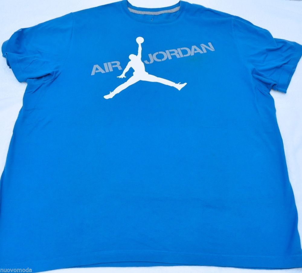 1980S NIKE AIR JORDAN GRAPHIC LOGO GREY MARL TEE