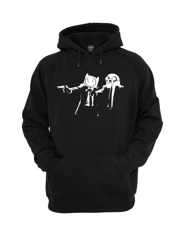 6fddd24c154 Adventure time Fiction Hoodie Men s