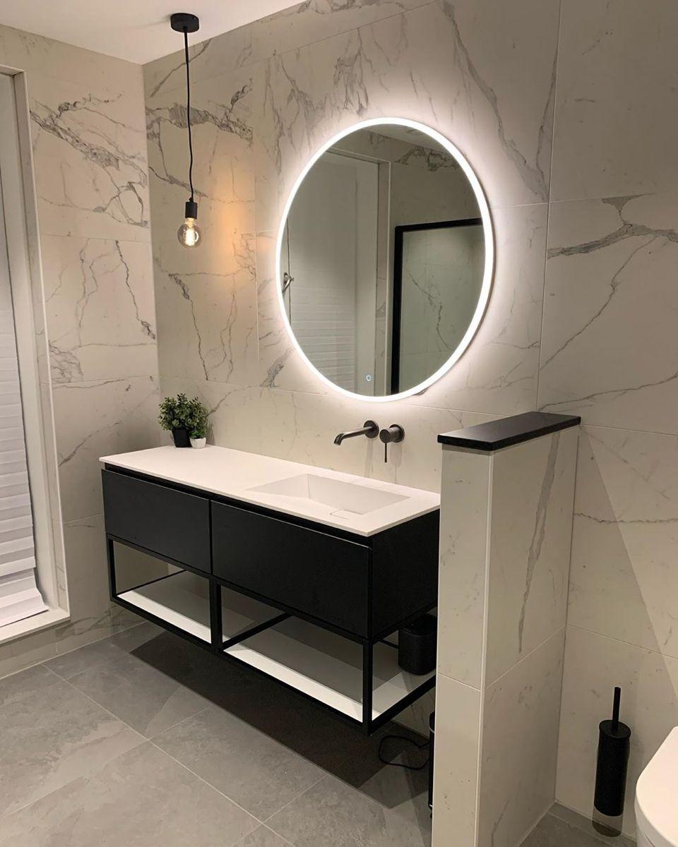 Photo of Luxe marmeren badkamer