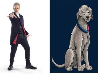 Dogtor Who: All the Time Lords - as dogs