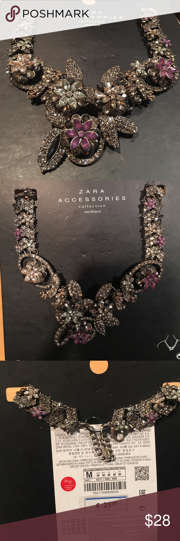 RARE Zara necklace. New, gorgeous design NWT | Customer support ...