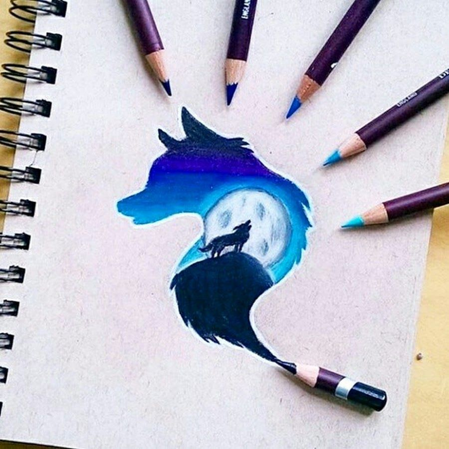 Falko Draws Youtube Art Drawings Sketches Simple Color Pencil