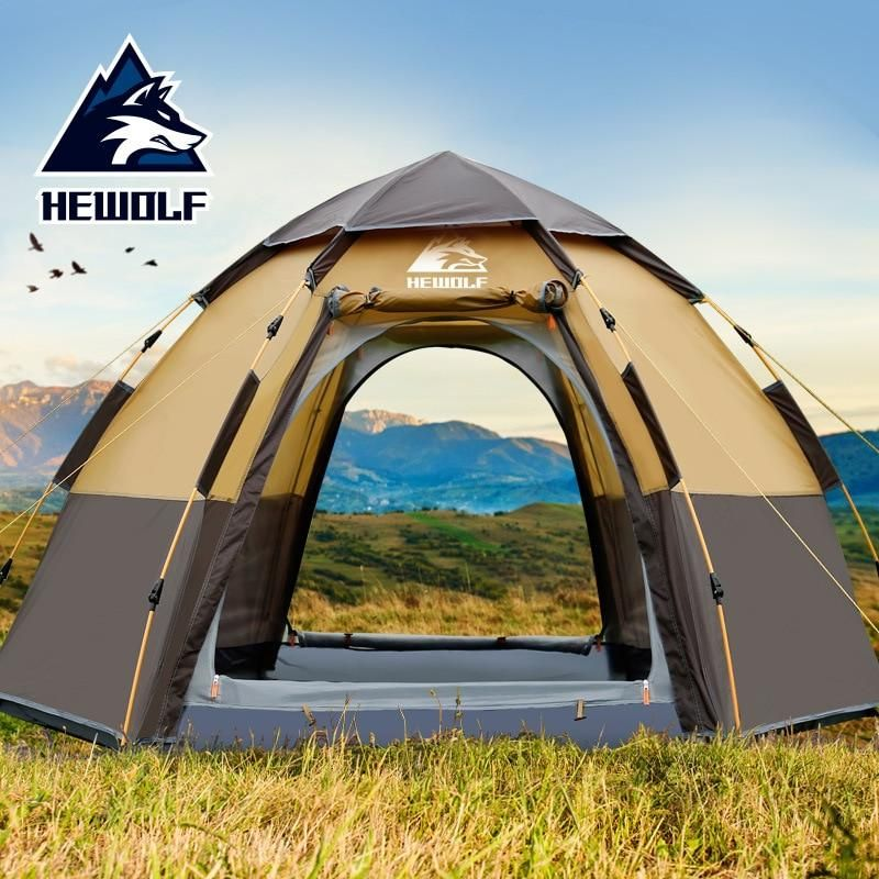 2 Person Large Double Layer Automatic Open Tent Patriot Gear Outlet 4 Person Camping Tent Hiking Tent Tent