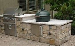 Image Result For L Shaped Outdoor Kitchen With Smoker  Outdoor Fascinating Outdoor Kitchen Home Depot Review