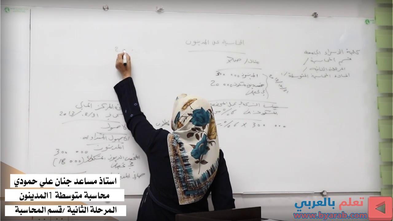 استاذ مساعد جنان علي حمودي قسم المحاسبة الجزه الثاني E 3