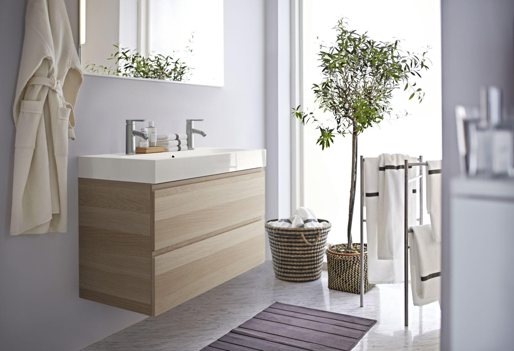 Ikea Badkamer Design : Godmorgon wastafelkast ikea badkamer opberger badkamer