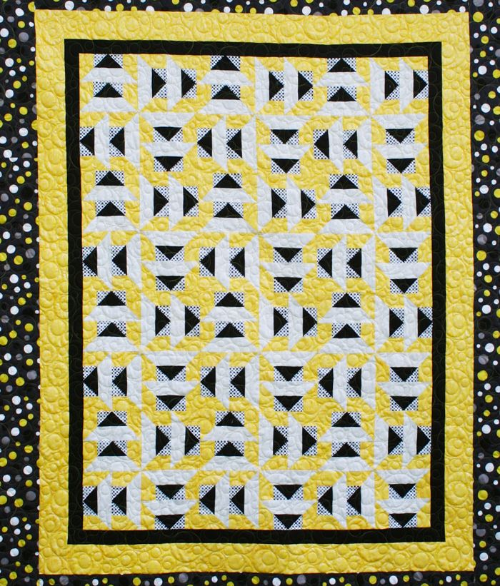Modern Dutchman Quilt Pattern Qqo 004 Advanced Beginner Lap And