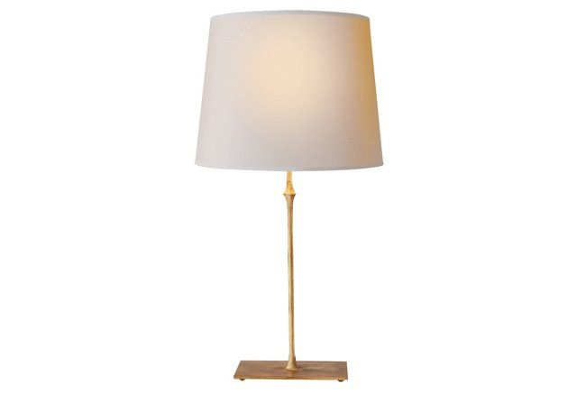 Dauphine Table Lamp Gilded Iron Table Lamp Black Table Lamps Contemporary Table Lamps