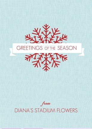 Red snowflake banner business holiday greeting card work ideas red snowflake banner business holiday greeting card colourmoves