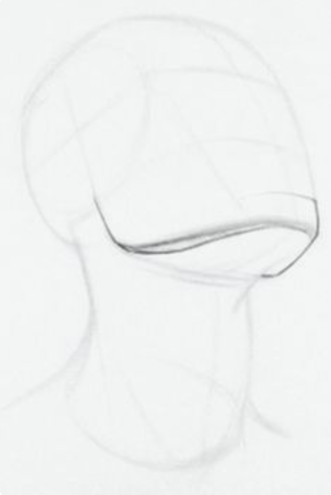 Head Looking Up Art Reference Poses How To Draw Necks Drawing Tips