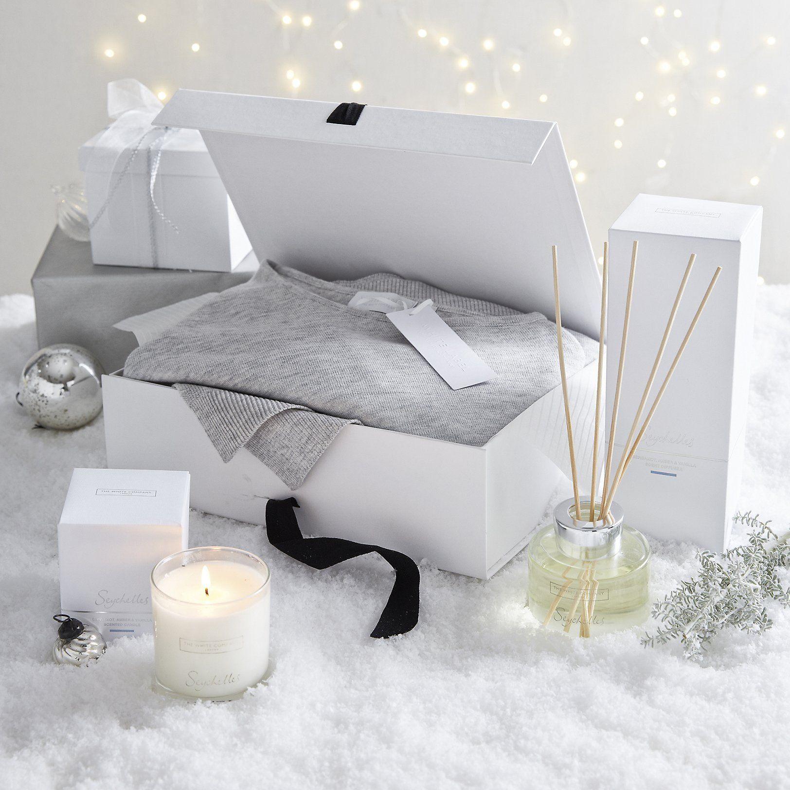 Interior design home fragrance gift set - Ladies Indulgence Gift Hamper Gift Sets Candles Fragrance The White Company Uk