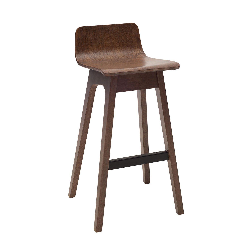 Agnes low back bar stool set of 2