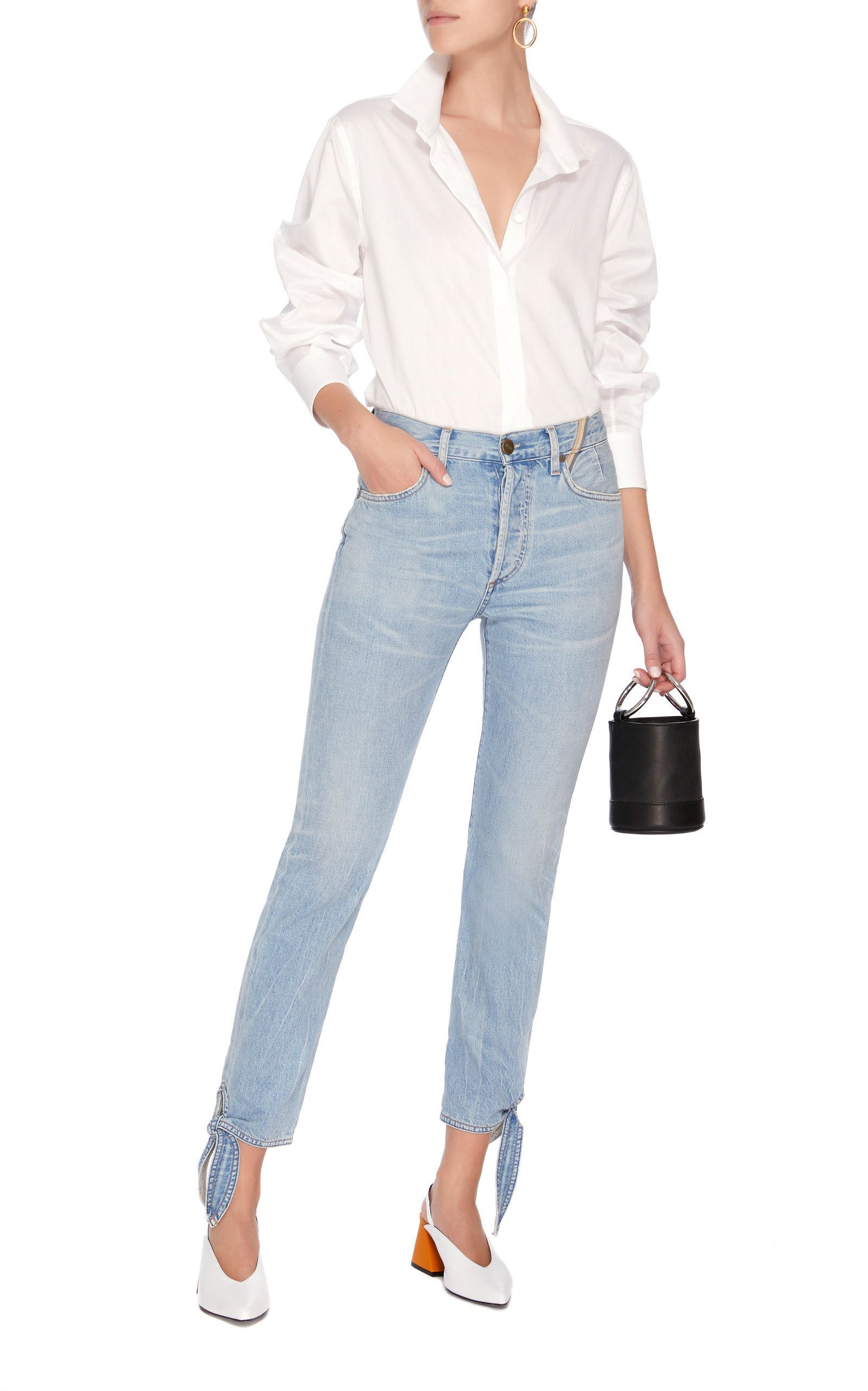 taille Jeans Jean haute Atelier Hunter tzH0wxHE
