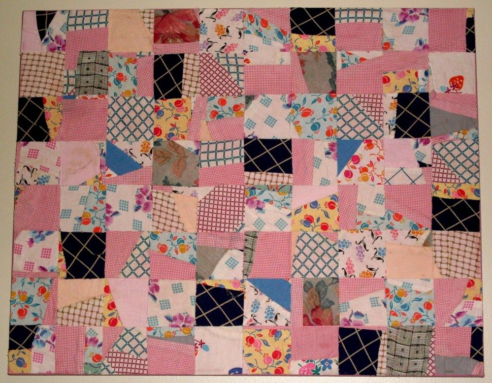 Scrambled Quilts - Artwork from taking a partial, unfinished ... : cutting quilt squares - Adamdwight.com