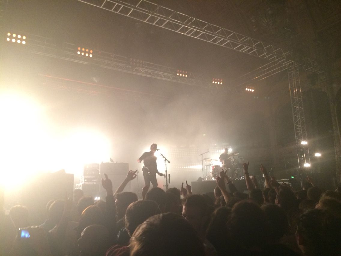 Royal Blood at the Blackpool Empress Ballroom 06/03/2015
