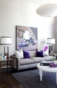 perfect amount of purple home-decor