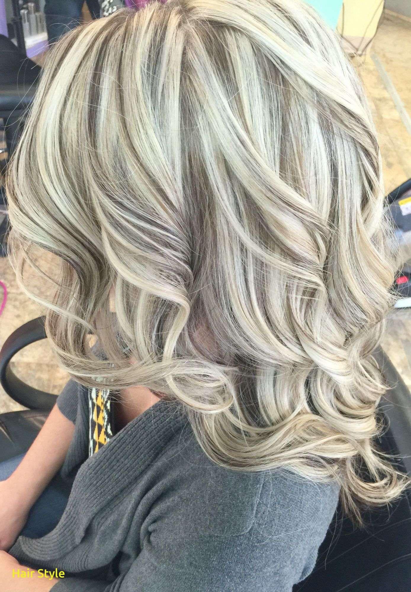 Blond mit dunklen strähnen